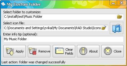 My Custom Folder